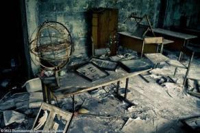Abandoned School in Prypiat