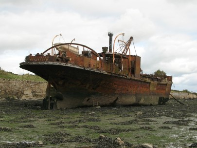 Abanoned barge