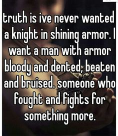 fights for something more