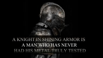 Shining armor metal tested
